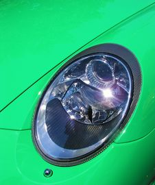 Free Left Headlight Royalty Free Stock Photography - 5534007