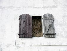 Free Window Full Of Straw Stock Photo - 5534050