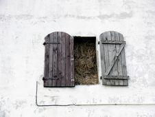 Free Window Full Of Straw Stock Photo - 5534050