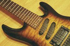 Free Seven String Guitar Royalty Free Stock Photo - 5534215