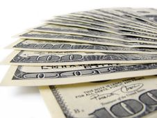 Free Stack Of $ 100 Bills Stock Photography - 5534222