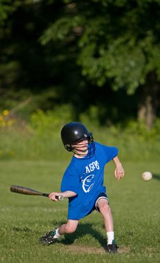 Play Ball Royalty Free Stock Photo