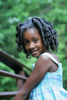 Free A Beautiful Child Royalty Free Stock Photography - 5534747