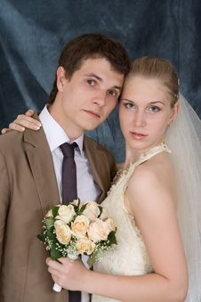 Free Newly-married Couple Stock Photography - 5535072