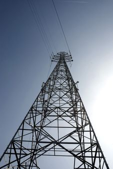 Free ELECTRICAL PYLONS Stock Photos - 5535323