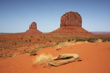 Free Monument Valley NP, Arizona Royalty Free Stock Photo - 5535405