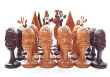 Set Of Chess Royalty Free Stock Photography