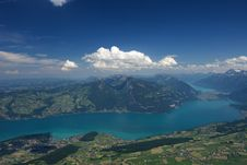 Free Swiss Landscape Royalty Free Stock Photography - 5535827