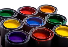 Free A Variety Of Paints Royalty Free Stock Image - 5535926