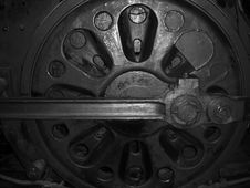 Free Inside Of Trains Engine Royalty Free Stock Photo - 5536025