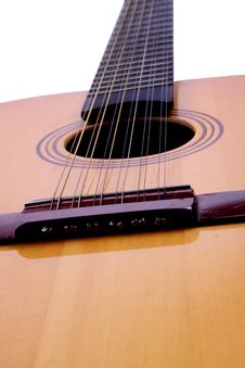 Free Guitar Close-up Stock Image - 5536641