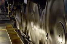 Free Inside Of Trains Engine Royalty Free Stock Images - 5536879