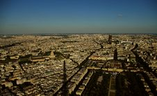 Free City View From Eiffel Tower - 2008, Paris Royalty Free Stock Images - 5537009
