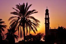 Free Mediterranean Sunset Stock Photography - 5537222