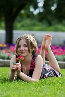 Free Summer Teen Royalty Free Stock Image - 5537846