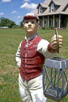 Free Lawn Jockey Stock Image - 5537861