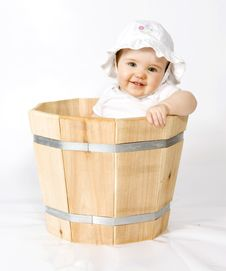 Free Baby In Planter Stock Photos - 5538453