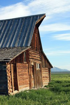 Barn Facade Stock Photography