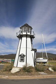 Lighthouse In Frisco Stock Photos