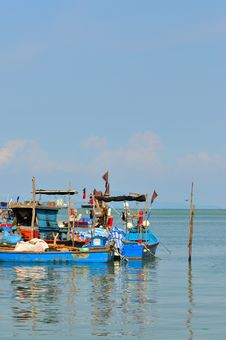 Free Fishing Village Series 11 Royalty Free Stock Image - 5539516