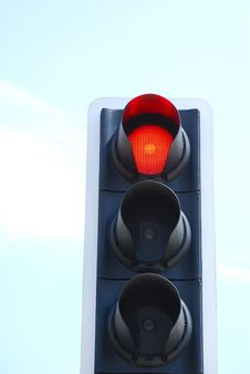 Free Stop Signal Stock Image - 5539921