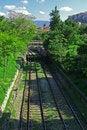 Free Railway Tracks Royalty Free Stock Photos - 5540378