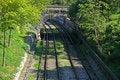 Free Railway Tracks Royalty Free Stock Image - 5540476