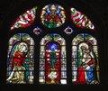 Free Window-pane From Paris Church - St. Eustache Stock Image - 5543201
