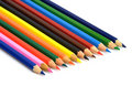 Free Group Of Color Pencils Royalty Free Stock Images - 5546209