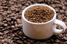 Free Coffee Granules Stock Photos - 5540313