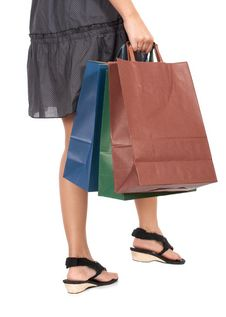 Free Shopping Bags Royalty Free Stock Image - 5540776