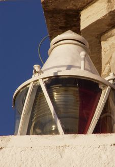 Free Lighthouse Lamp Royalty Free Stock Image - 5540966
