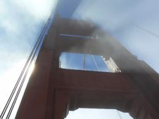Golden Gate Bridge 2 Stock Images