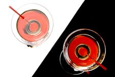 Free Martini In A Glass Royalty Free Stock Photos - 5541648