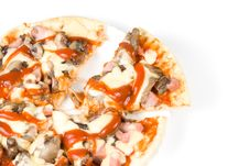 Appetizing Pizza Royalty Free Stock Images
