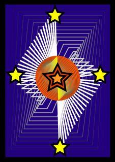 Free Star Emblem Stock Image - 5541891