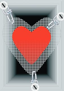 Free Plastic Heart Royalty Free Stock Photo - 5542585