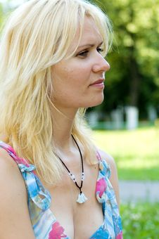 Free Blond Woman Stock Photos - 5543323