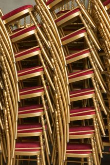 Free Stack Of Chairs Royalty Free Stock Photos - 5543408