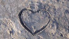 Free Concrete Heart Stock Photo - 5543680