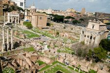 Free Roman Forum Royalty Free Stock Images - 5543729
