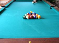 Free Billiard Table_5 Stock Photography - 5544522