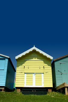 Free Beach Huts Royalty Free Stock Images - 5544629