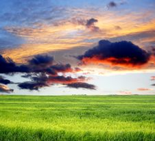 Free Storm Clouds Royalty Free Stock Images - 5544949