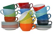 Porcelain Cups Royalty Free Stock Image