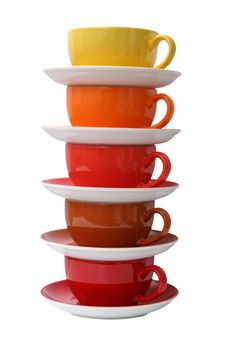 Porcelain Cups Royalty Free Stock Photography