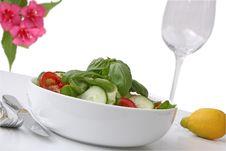 Free Salad Vegetables Stock Image - 5545411