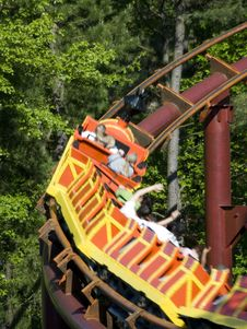 Free Roller Coaster Stock Photos - 5545523