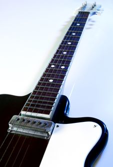 Free Electric Guitar Royalty Free Stock Photography - 5545557