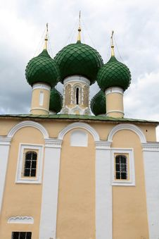 Free Front Of Orthodox Church Royalty Free Stock Image - 5545716